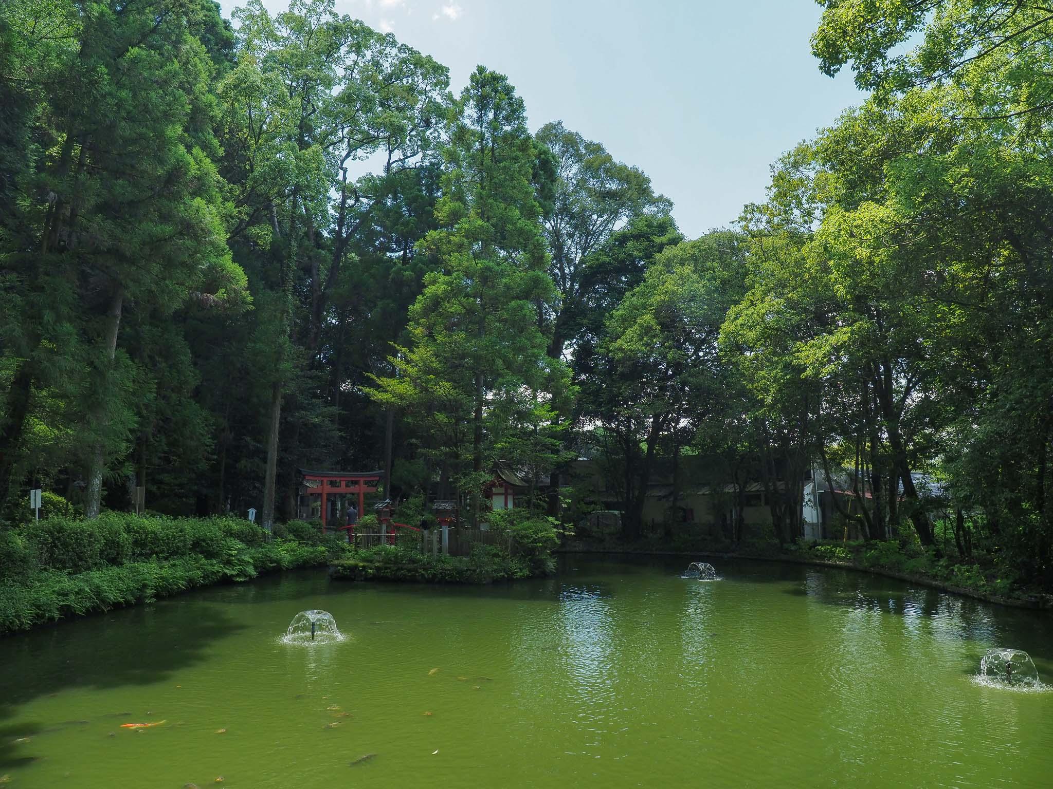 奈良県 大神神社 狭井神社