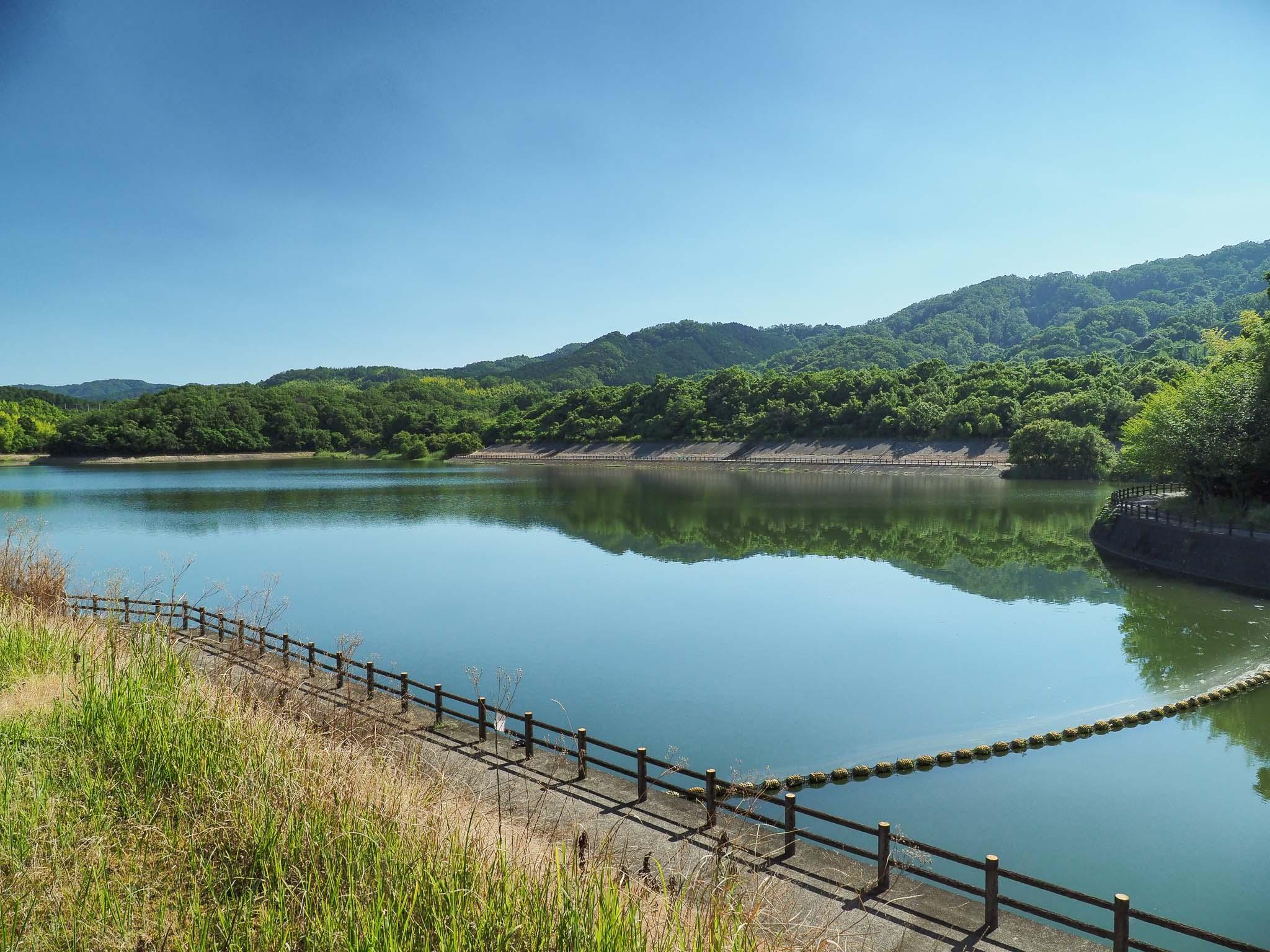 奈良県 白川ダム