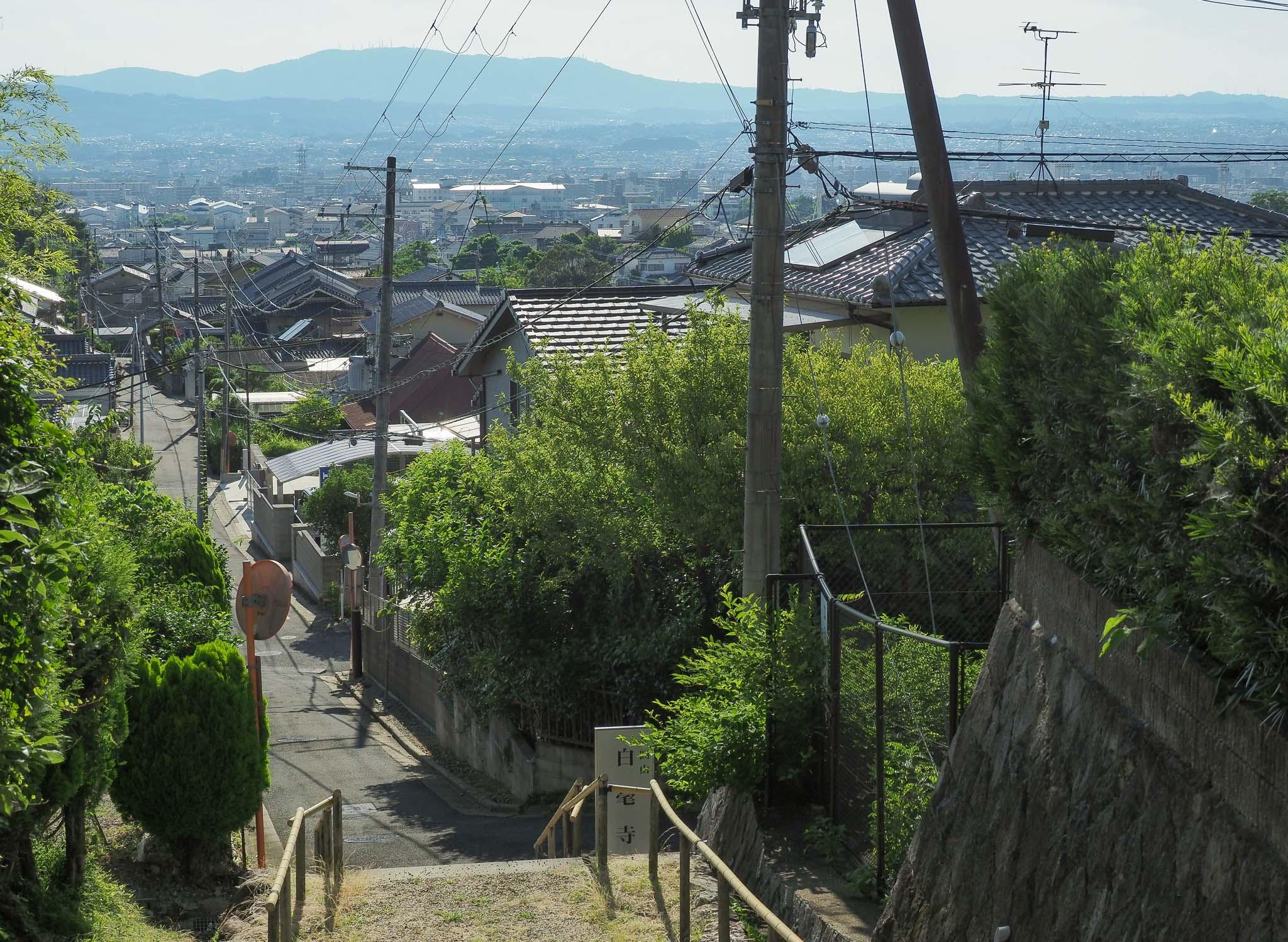 奈良県 白毫寺町
