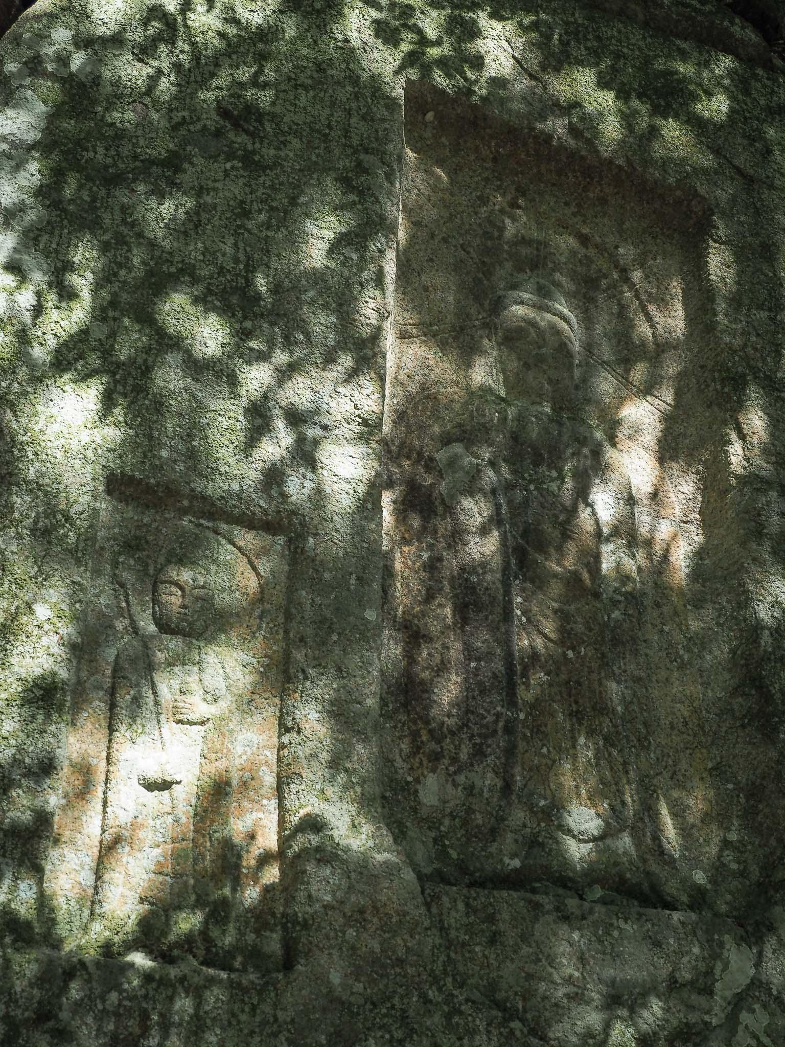 奈良県 阿対の石仏