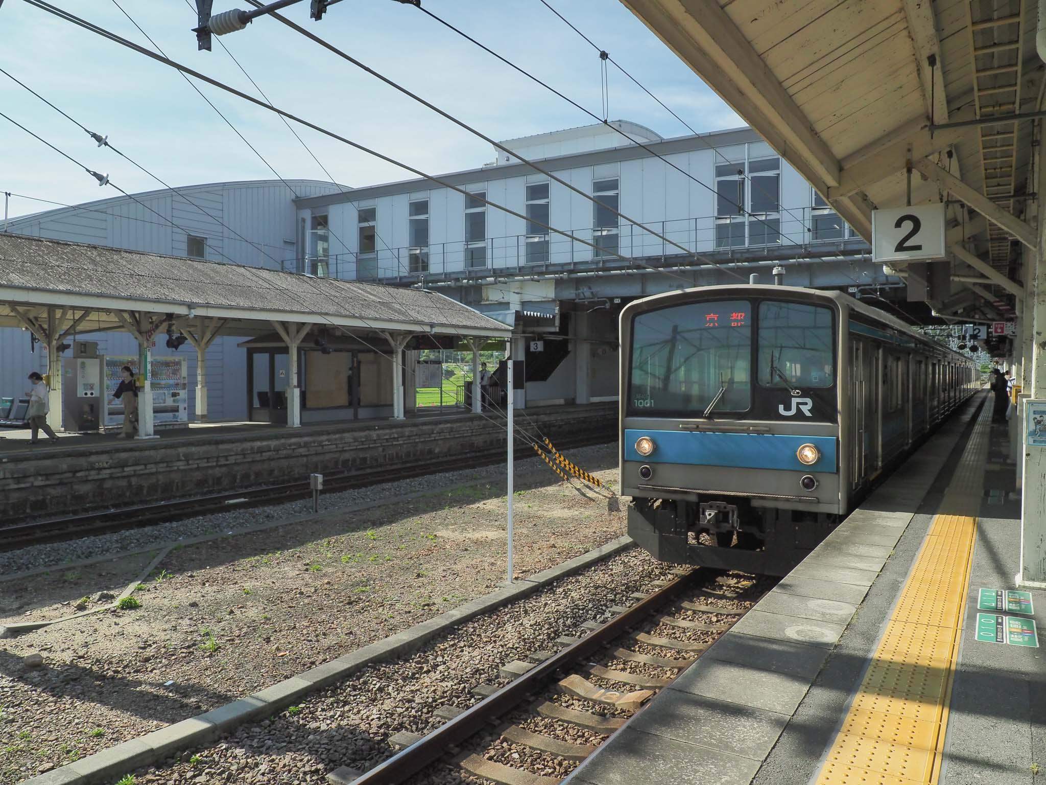 京都府 木津駅